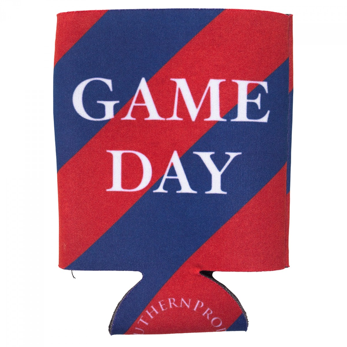 Navy & Red Gameday Coozie